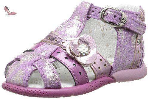 f091a415063d Babybotte Grillon, Chaussures Bébé marche bébé fille, Rose (012 Pivoine), 21