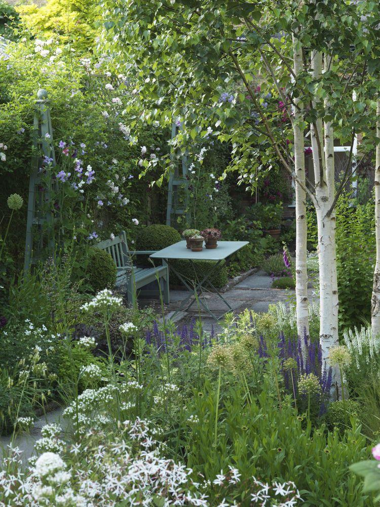 A Garden For All Seasons   Small garden design, Small ... on Small Garden Sitting Area Ideas  id=97654