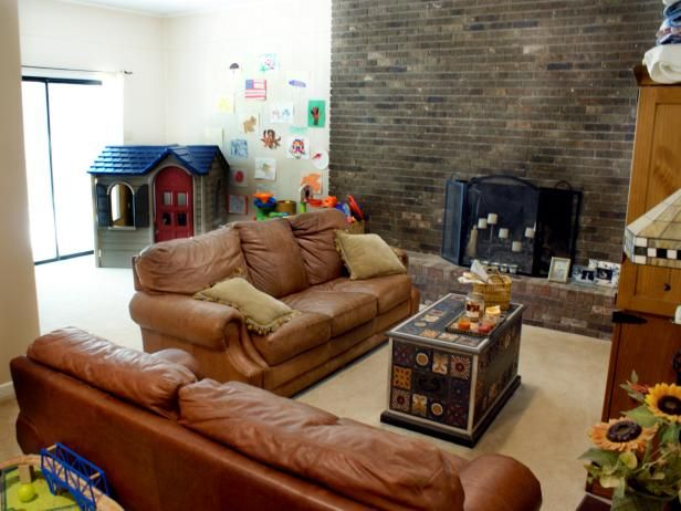 We asked DIY Network fans to vote on how we should renovate this family room. Take a look at the stunning results.