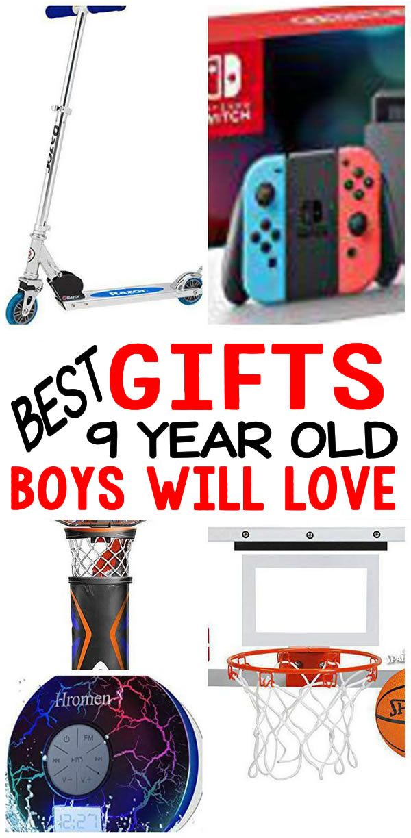 Best Gifts 9 Year Old Boys Will Love Coolest Gift Ideas For A 9th Birthday Christmas Holiday Or Anytime Of The Great Present Not Only An