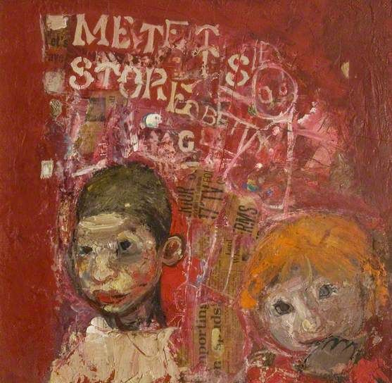 Brian and Pat Samson by Joan Eardley (1921-1963)
