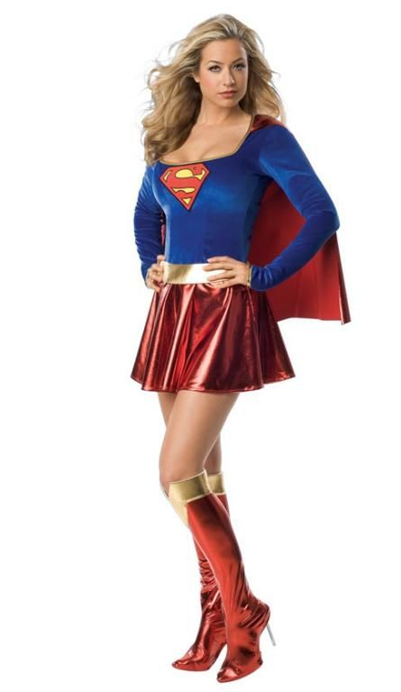 OutfitstSupergirl Costume - Adult Costumes