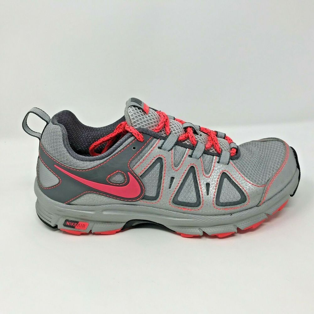 533f90dfa7020 Nike Womens Size 7.5 Air Alvord 10 Silver Pink Trail Running Shoes  512038-002  Nike  RunningShoes
