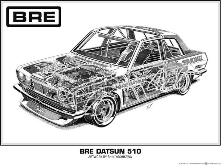 d datsun 510 bre cutaway