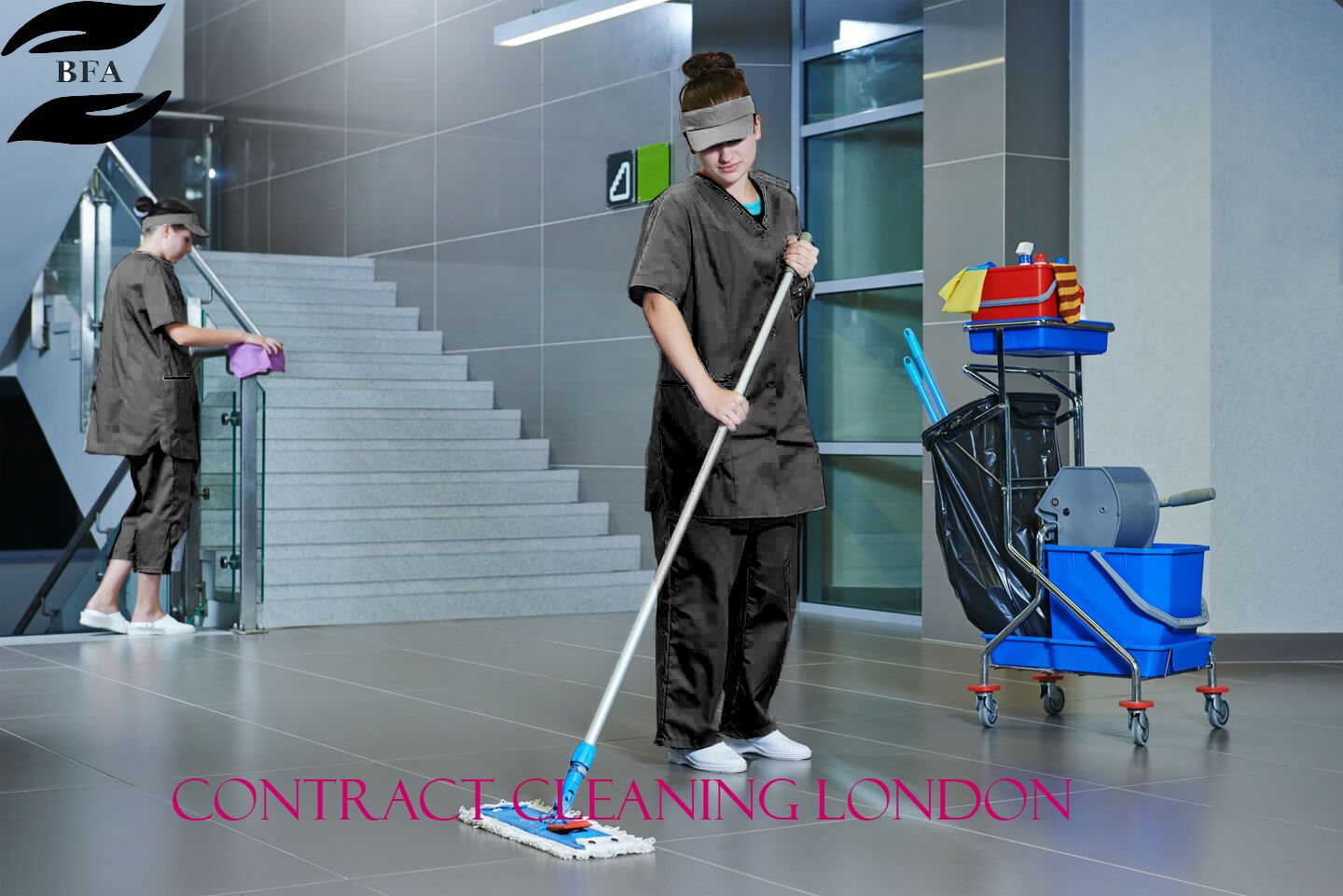 BFA Cleaning gives the best contract cleaning London at