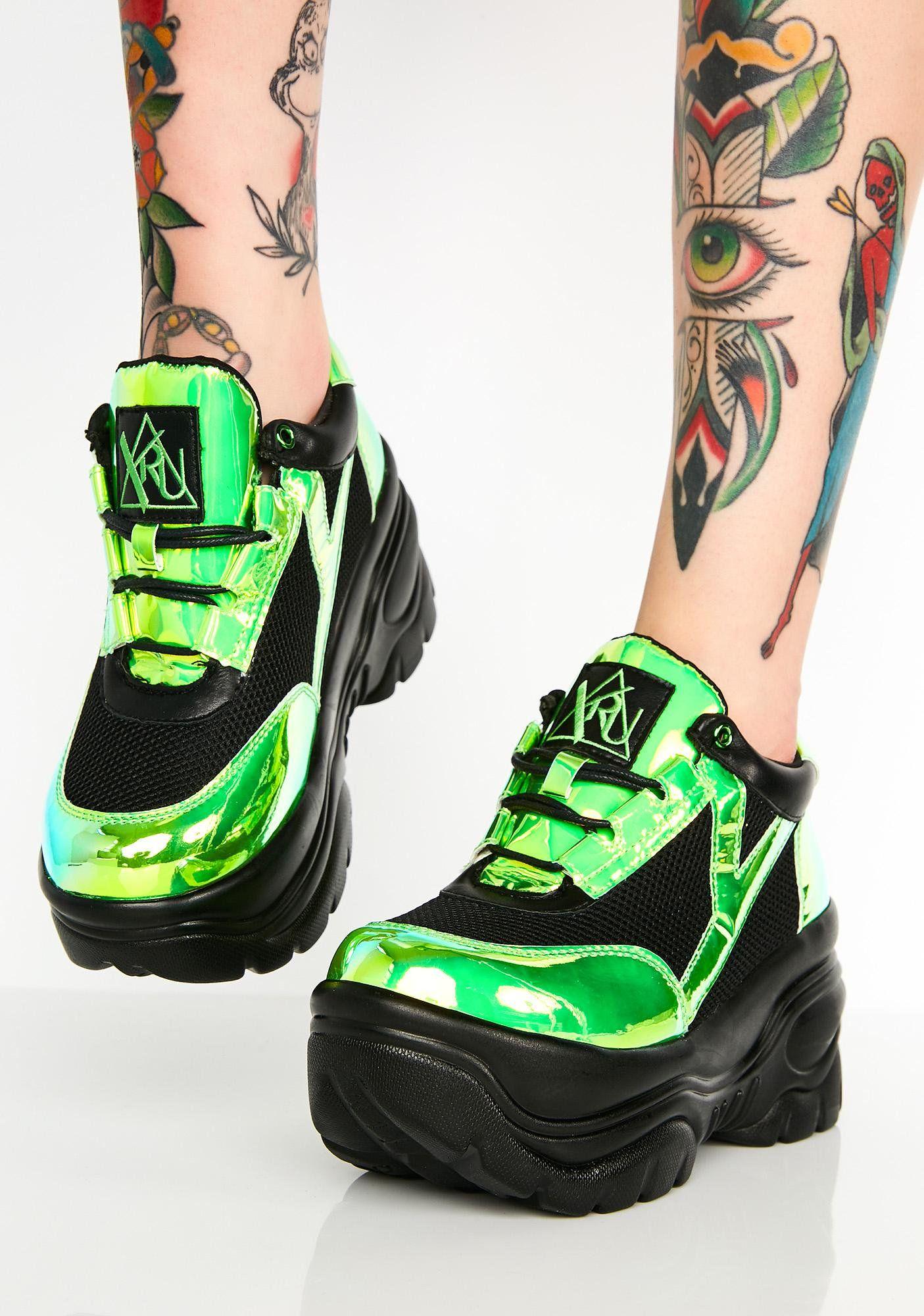 bdf25ce63d3c Kush Matrixx Platform Sneakers
