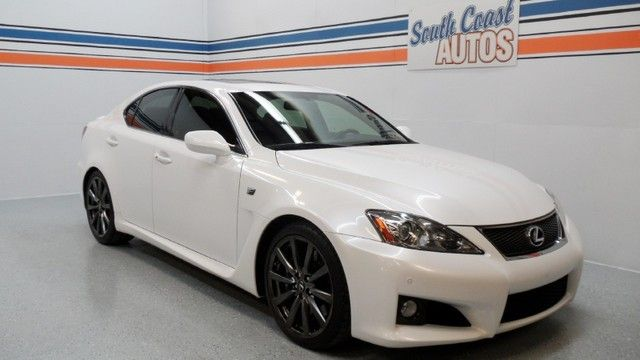 White Pearl 2008 Lexus ISF  V8 automatic - used car for sale in Houston, Texas 77008, Spring TX 77373, The Woodlands TX 77380, Tomball TX 77375, Katy TX 77494. Visit http://www.SouthCoastAutos.com