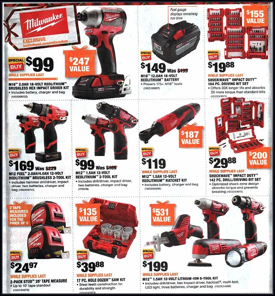 Home Depot Black Friday 2018 Ads And Deals Browse The Home Depot Black Friday 2018 Ad Scan And The Complet Home Depot Coupons Black Friday Savings Black Friday