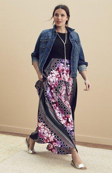 Plus Size Eliza J Maxi Dress | Plus Size Fashion in 2019 | Fashion ...