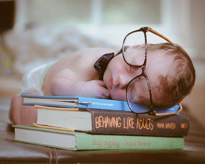 Adorable Nerdy baby picture inspiration.