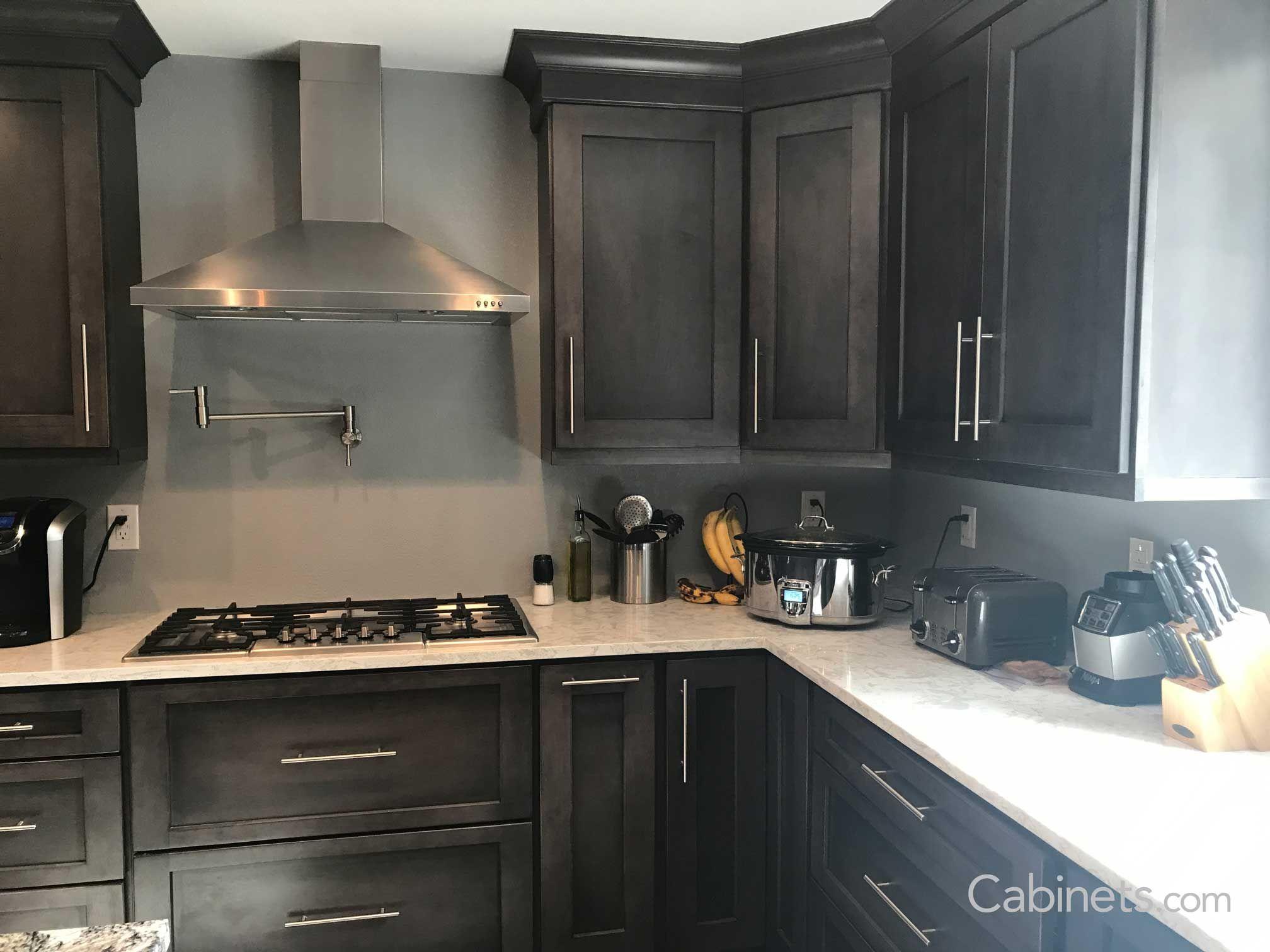Best Shaker Ii Maple Slate Cabinets Com With Images Slate 400 x 300