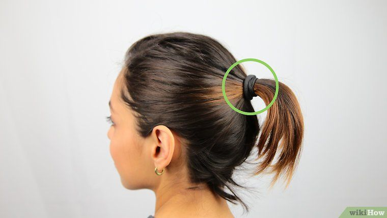 How To Make A Bun With Short Hair Ehow Short Hair Bun Messy Bun For Short Hair Donut Bun Hairstyles