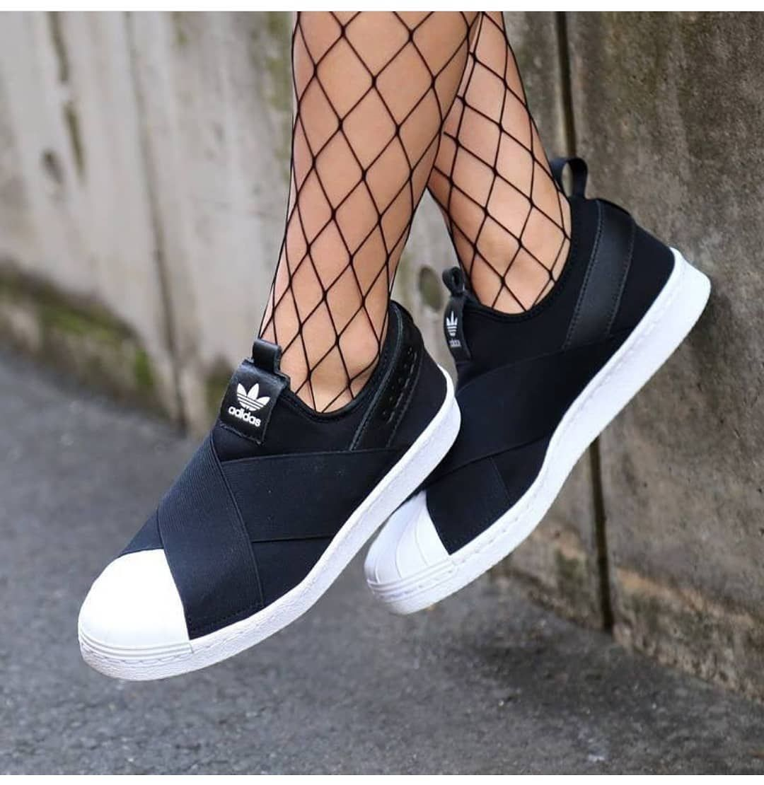 más Decorativo batería  ADIDAS SLIP ON IMPOR MADE IN VIETNAM IMPOR COMPONENT GRADE QUALITY For  /woman Available size : 36-40 Only… | Sneakers, Women shoes, Adidas  originals superstar