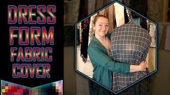 create a dress form covor - YouTube