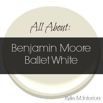 Colour review ballet white benjamin moore cream paint for Neutral cream paint color