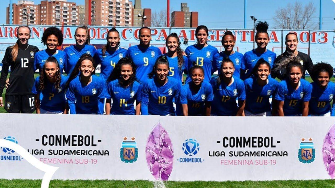 BRASIL X BOLIVIA FUTEBOL FEMININO SUB 20 GOLS DA PARTIDA