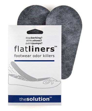 Solutions That Stick Black Flatliners Shoe Odor Eliminator Set. Solutions That Stick Black Flatliners Shoe Odor Eliminator Set