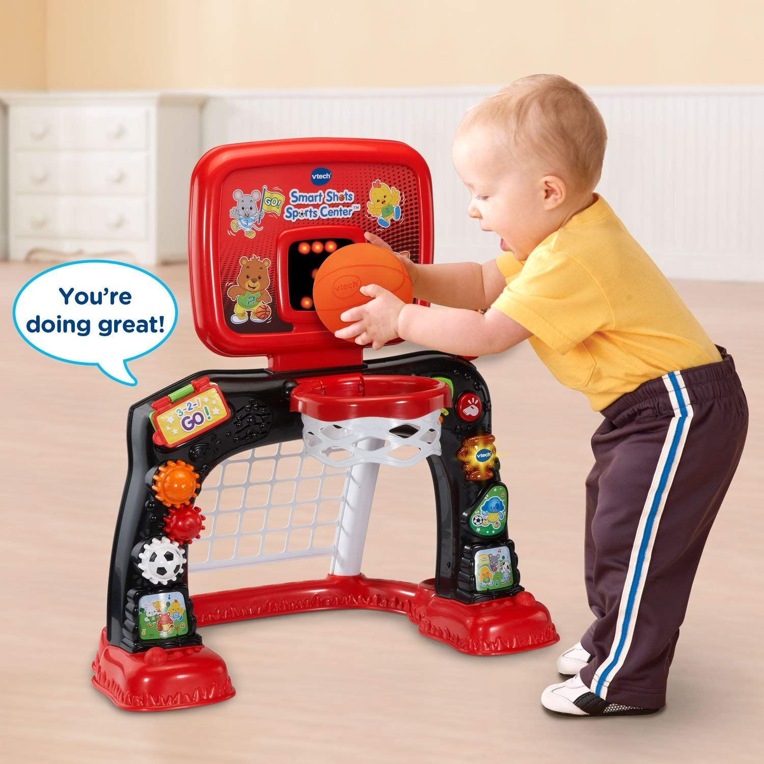 Christmas Gift for Baby, Smart Shots Sports Center, Red 2