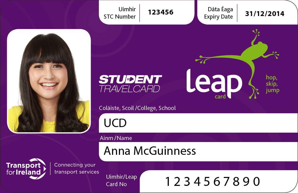 nice 10 Student ID and Travel Card Samples | Best Business Cards ...