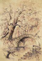 Swamp by GrimDreamArt