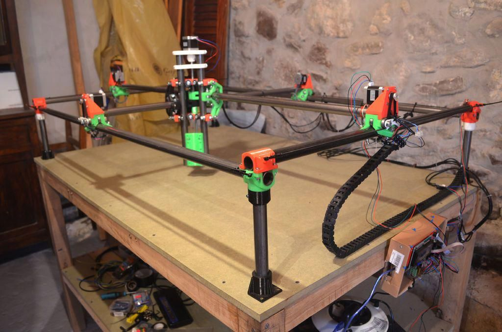 Cheap Scalable Arduino CNC, Plotter, Mill, 3D Printer    (MPCNC