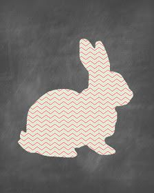 FREE Easter Bunny Printable