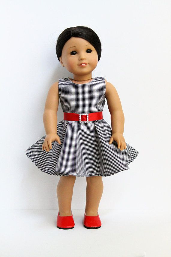 18 Inch Doll Dress And Shoes Made To Fit Dolls Like American Girl