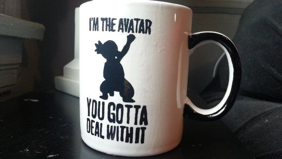 The Legend of Korra Coffee Mug - 11oz!!  Omg i love korra!! #korra