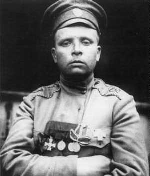 maria bochkareva was given a special dispensation by tsar nicolas ii to enlist in the russian army. she was just as tough as the boys, trained as hard, fought as hard, took no foolishness from anyone. as empire gave way to revolution, she formed the 1st russian women's battalion of death, an army division of 2000 female soldiers who shaved their heads, adopted the skull & bones as their emblem and fought the germans on the eastern front towards the end of world war i. can you say badass???