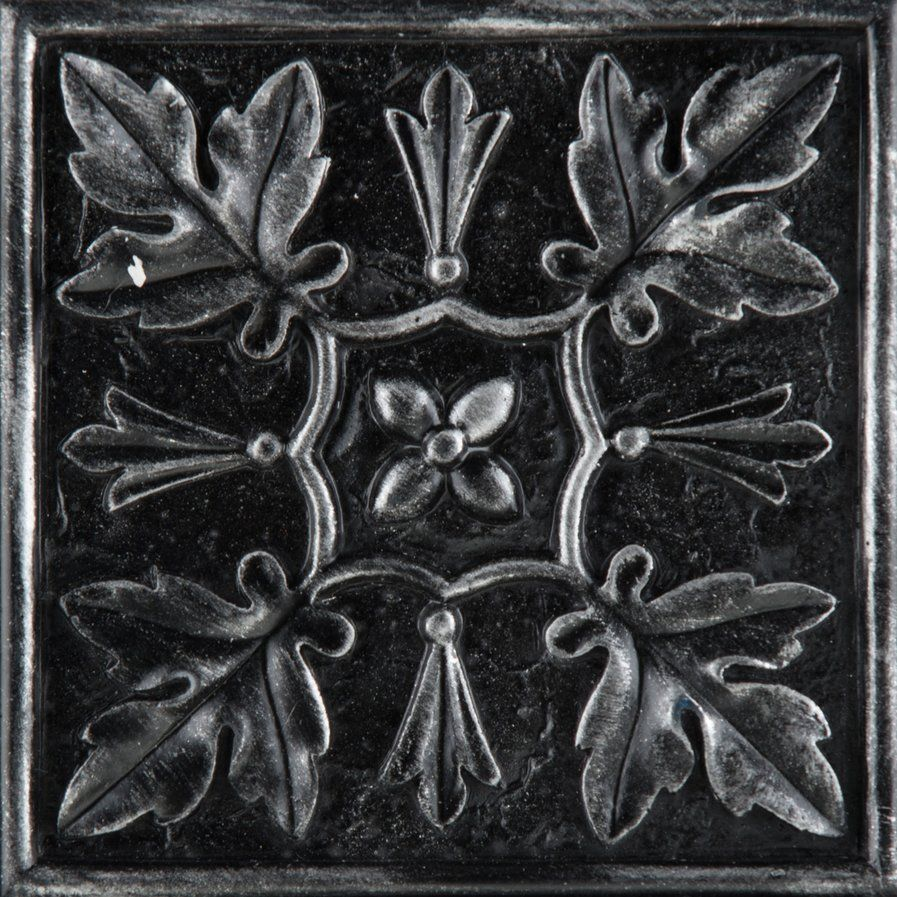 "Decorative Accent Tile Unique Camelot 4"" X 4"" Metal Arthur Decorative Accent Tile In Iron Design Inspiration"
