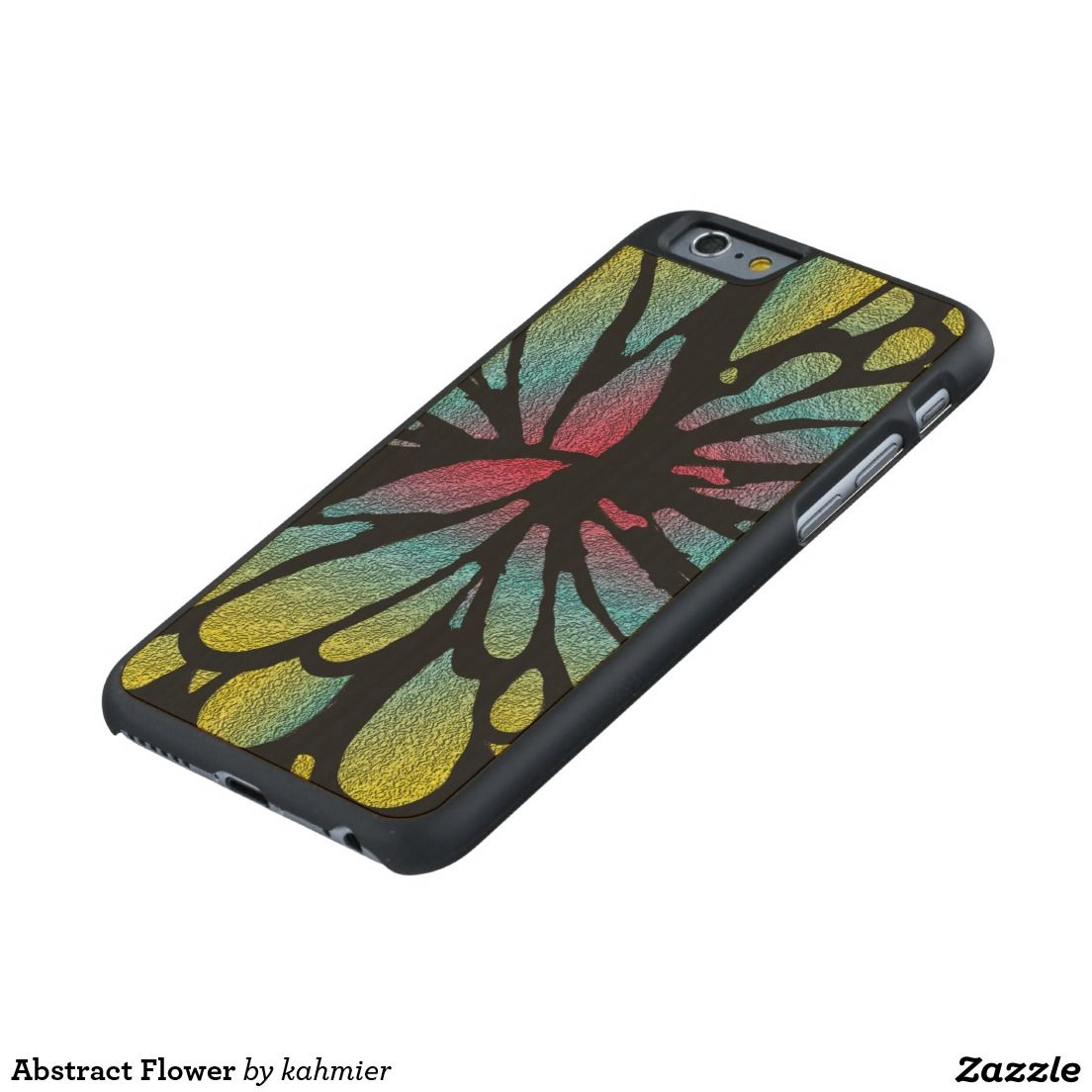 Abstract Flower Carved® Maple iPhone 6 Slim Case