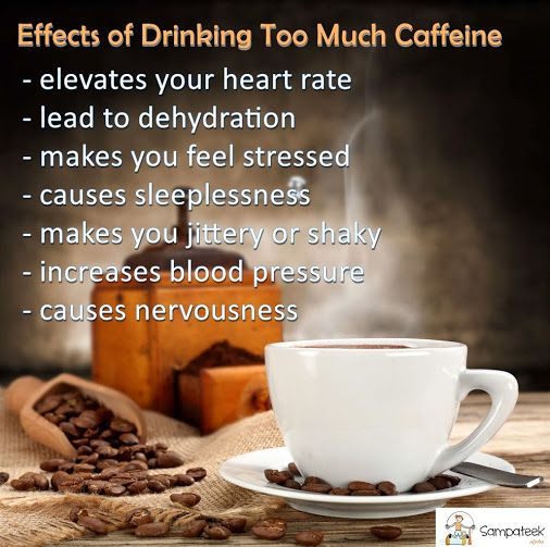 Whats Your Caffeine Intake Do You Have Any Of These Effects If So You May Want To Scale Back Your C Stress Causes Health Care Hospital Effects Of Drinking