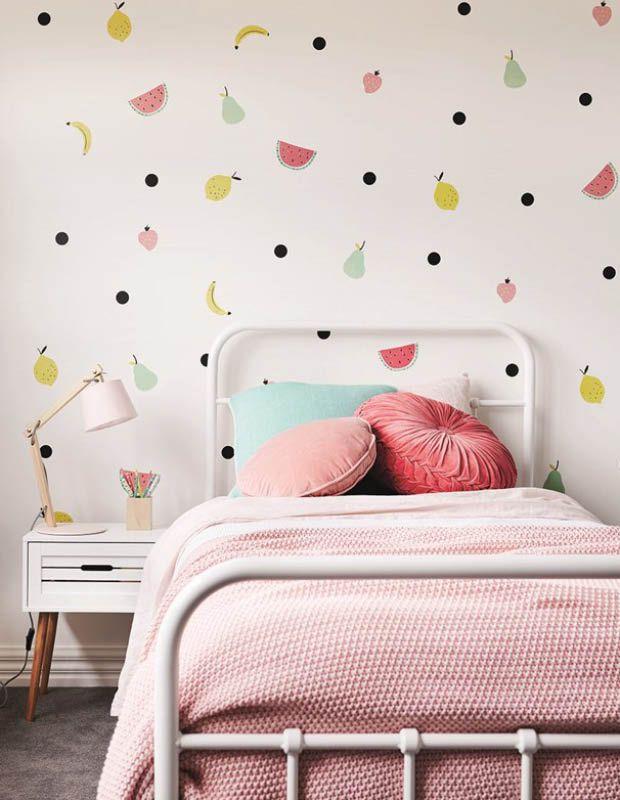 12 façons de décorer avec des motifs de fruits