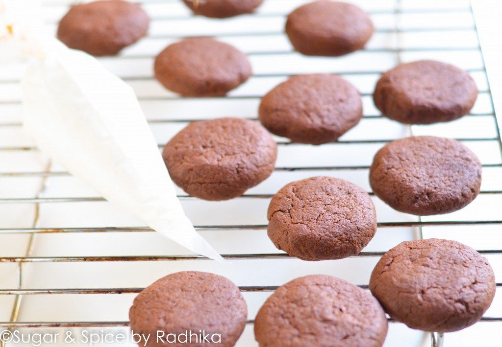 For the Chocolate Cookies • Softened Butter, ½ cup or 100 grams approx. •  Powdered White Sugar, ½ cup • Dark Brown Sugar, ½ cup or 100 grams approx.
