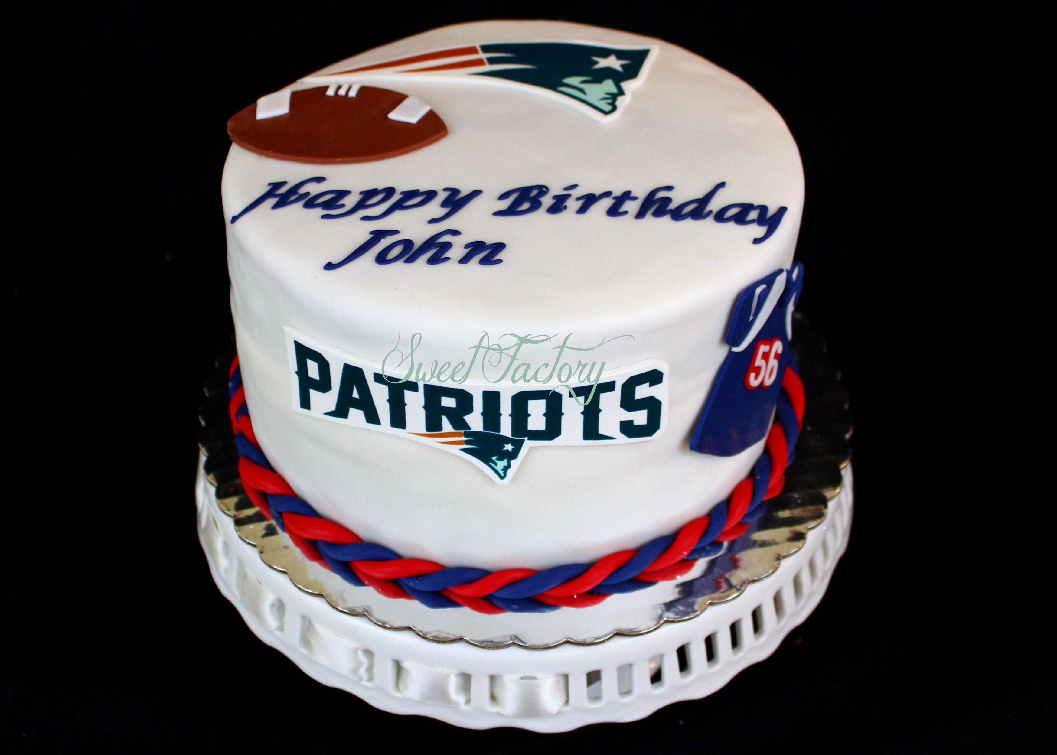 Patriots Cake Nfl Cake Patriotic Cake 16 Birthday Cake Nfl Cake