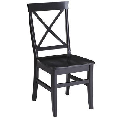 Torrance Side Chair - Rubbed Black
