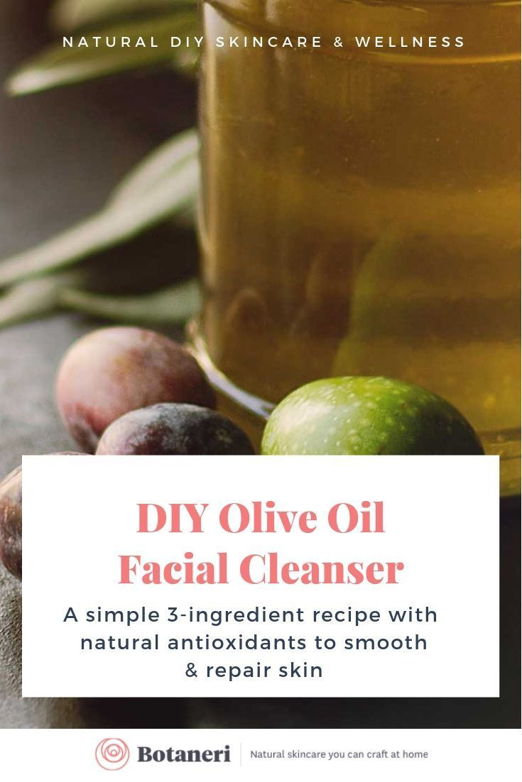 Easy Olive Oil Facial Cleanser