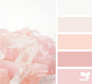 I M Not The Girliest Of Girls But I Love Love Love Light Pinks Blushes Champagnes Whatever You Want To Call Color Palette Pink Design Seeds Color Schemes