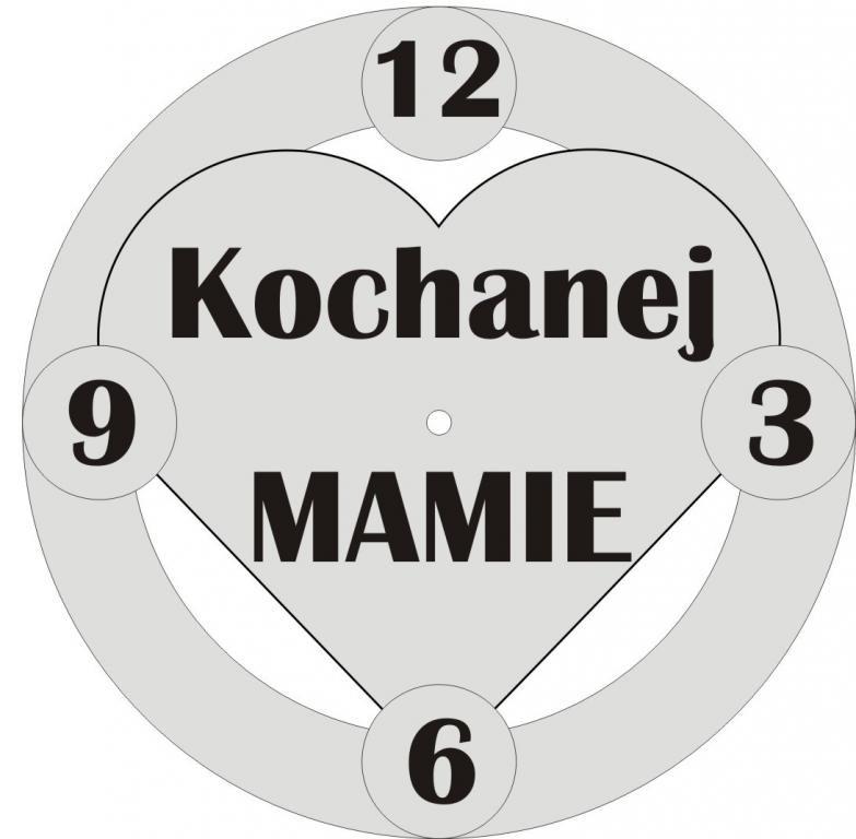 Zegar Na Dzien Matki Prezent Jedyny Taki 5334135029 Oficjalne Archiwum Allegro