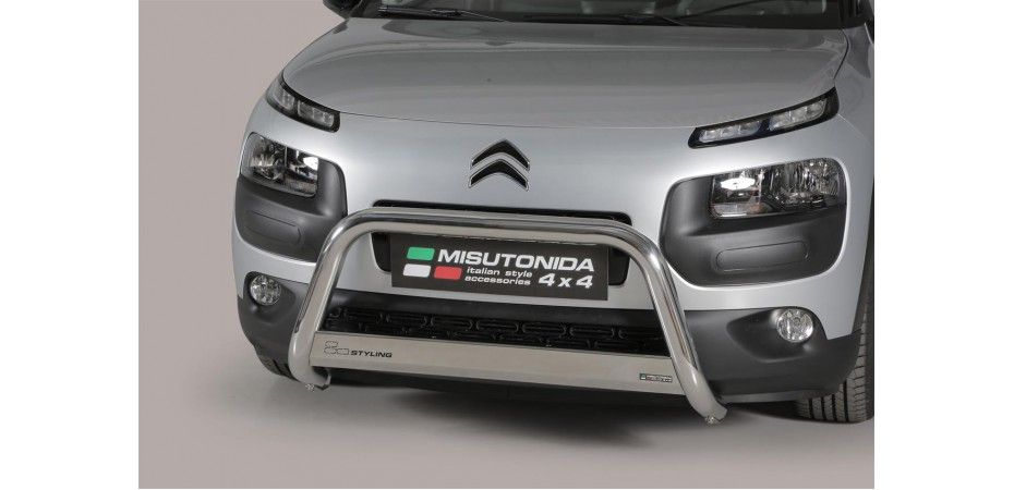 MEDIUM BAR INOX Ø 63 CITROEN C4 CACTUS 2015+