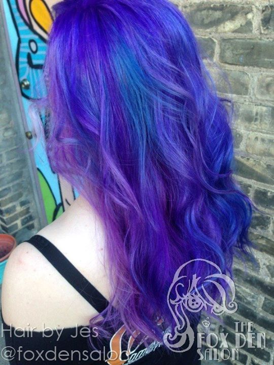 www.foxdensalon.com - You could get lost in these colors.  Hair by Jes.