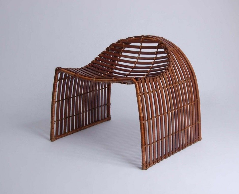 Unique contemporary bamboo chair The Meyer Collection by ...