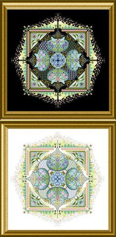 Chatelaine Designs Spring Knotgarden Cross Stitch