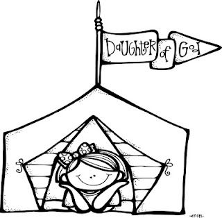 Lds Illustrations To Go Outside Tents At Girls Camp You Can Write Their Names Of Them Cute