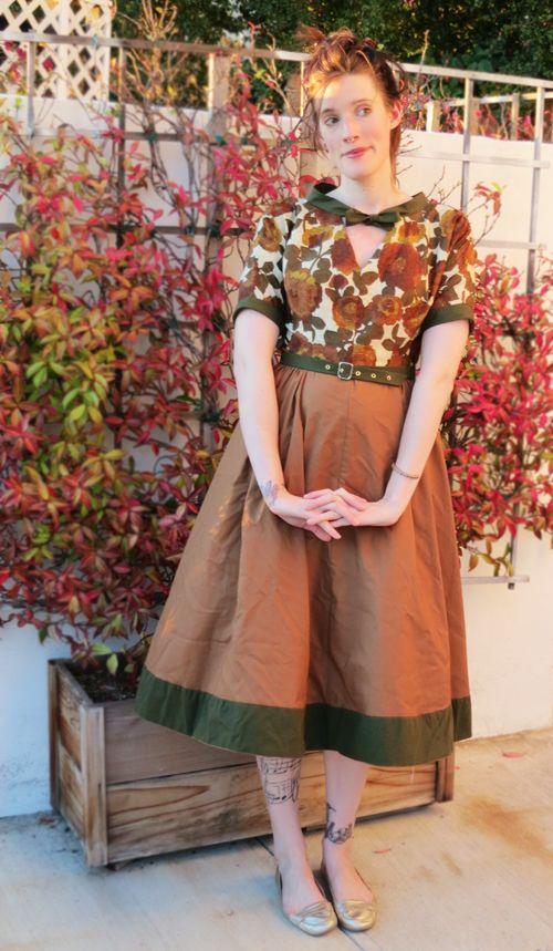 McCalls 1950's vintage dress