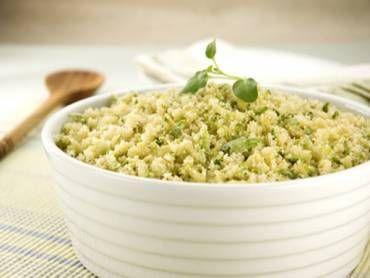 Receita de Farofa verde (vegetariana) - Tudo Gostoso