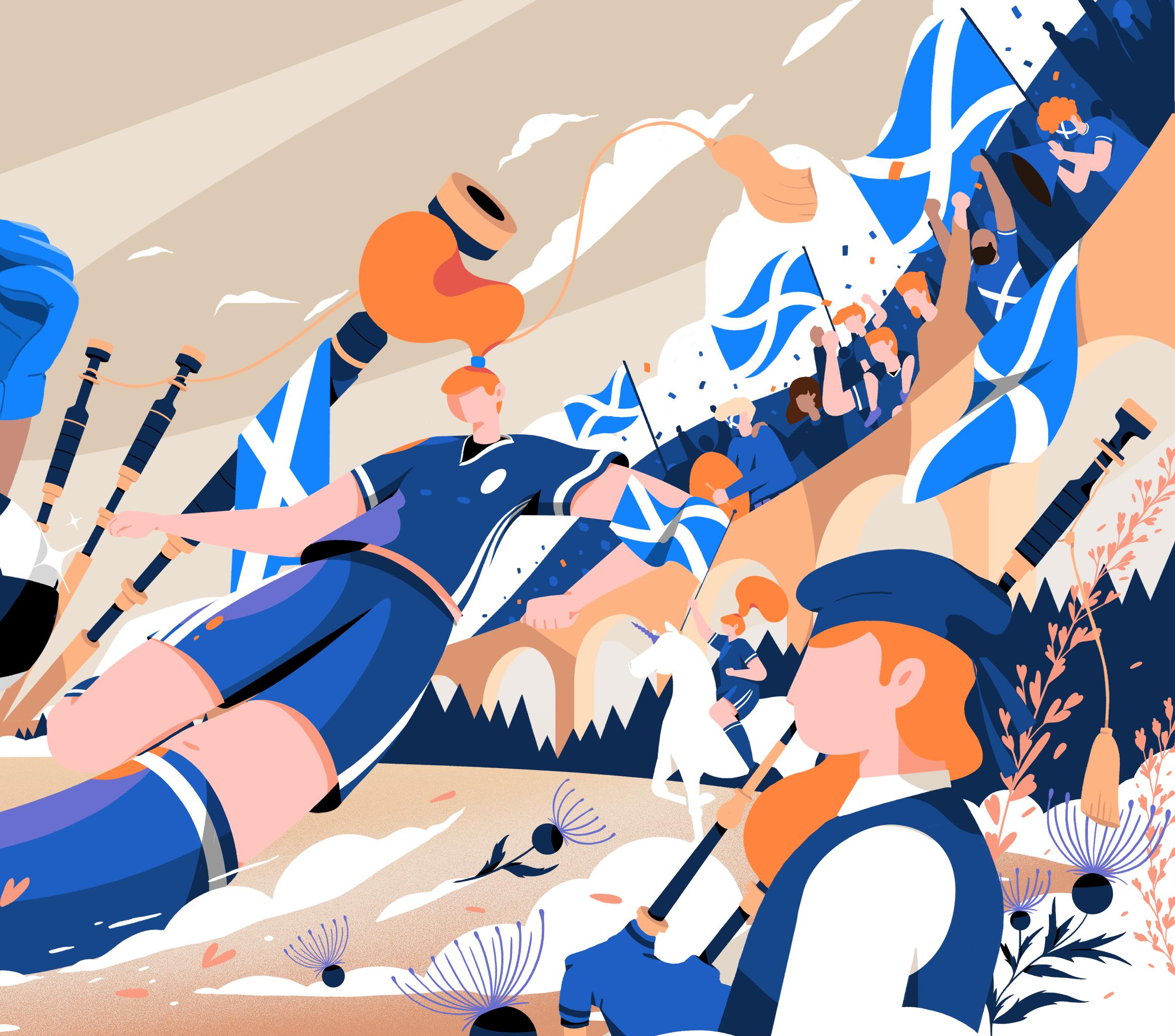 """查看此 Behance 项目 """"Google Doodle / Fifa Women's World Cup"""