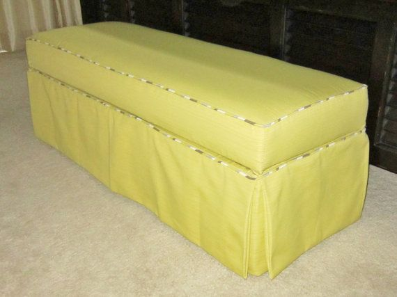 Ottoman Over 4 sq ft - Liberal Sized Custom Slipcover