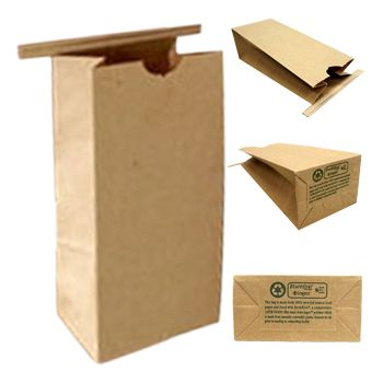 PaperBag #WindowStandUpPouches #StandUpPouches - Our poly-lined - color lined paper