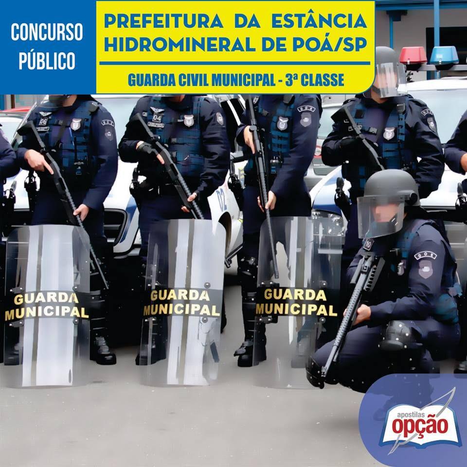 Apostila Concurso Prefeitura Da Estancia Hidromineral De Poa Sp